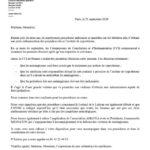 Comunication du cabinet DANTE du 26 septembre 2020- Androcur- Lutéran- Lutényl