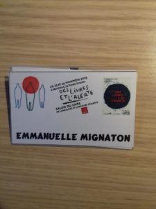 badge emmanuelle mignaton androcur